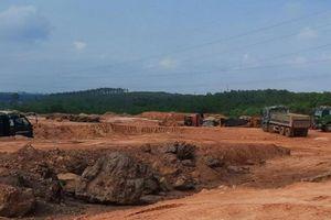Phạt doanh nghiệp và 2 chủ trang trại khai thác đất lậu hơn 1,2 tỷ đồng