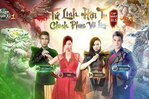 'Tứ Linh Hội Tụ': Khi Min, MisThy, Dế Choắt và Tiến Linh đứng chung một khung hình trong Võ Lâm Truyền Kỳ 1 Mobile