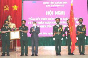 Lực lượng vũ trang tỉnh Khánh Hòa đón nhận Huân chương Bảo vệ Tổ quốc hạng Ba