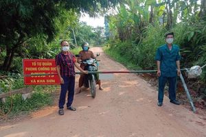 Phú Bình: 47 xóm thực hiện giãn cách xã hội