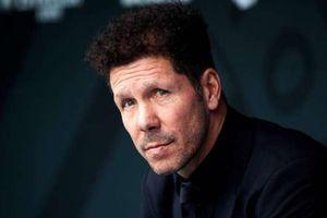 Atletico Madrid chuẩn bị chốt tương lai của HLV Diego Simeone