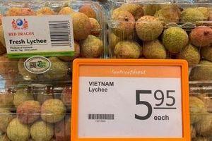 230 siêu thị FairPrice tại Singapore bán vải thiều Việt Nam
