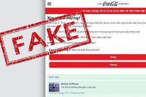 Cảnh giác link giả mang tên 'Quỹ phúc lợi Coca-Cola' trên Facebook khiến bạn mất tài khoản