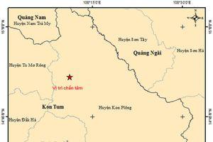 Kon Tum: 2 tháng xảy ra 39 trận động đất