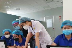 Tỉnh đoàn Bắc Ninh đưa tình nguyện viên vào hỗ trợ công tác tiêm vắc xin