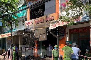 Hiện trường vụ cháy cửa hàng đồ điện khiến gia đình 4 người thiệt mạng