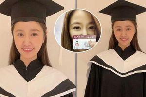 Lâm Tâm Như lấy bằng Thạc sĩ, ảnh mặc lễ phục trong buổi tốt nghiệp online gây 'bão'
