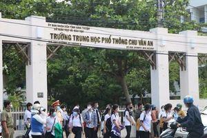 Ninh Thuận: Hơn 850 người tham gia làm nhiệm vụ kỳ thi 10 được xét nghiệm SARS-CoV-2