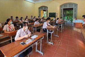 Cần Thơ: Trên 13.200 thí sinh bước vào Kỳ thi tuyển sinh lớp 10