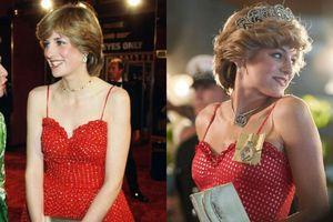 10 bộ trang phục huyền thoại của Công nương Diana được tái hiện trong The Crown