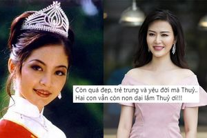 'Hoa hậu bí ẩn' nhất Việt Nam xót xa trước cái chết của Nguyễn Thu Thủy: '2 con vẫn còn non dại Thủy ơi'