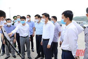 Lãnh đạo tỉnh Thanh Hóa làm việc với Đoàn công tác của Tập đoàn Dầu khí Quốc gia Việt Nam