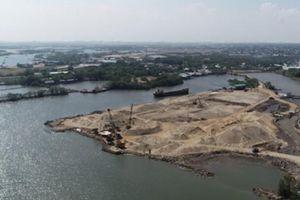 Lấp sông làm cảng thủy nội địa dân mất 'đường' sống