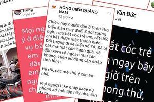 Quảng Nam: Không có chuyện bắt cóc trẻ ở xã Điện Thọ