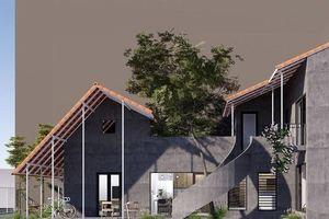 Ngôi nhà trát xi măng, xây hết 800 triệu đồng của nhiếp ảnh gia Nghệ An