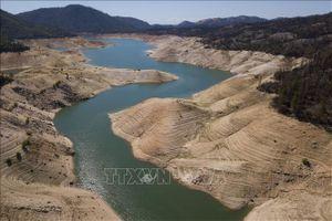 Hạn hán nghiêm trọng ở miền Tây nước Mỹ làm cạn kiệt nhiều hồ chứa nước