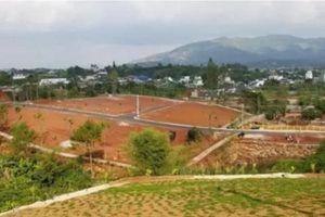 Buông lỏng quản lý đất đai, nhiều cán bộ ở Lâm Đồng bị đình chỉ công tác