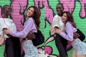 Khánh Vân vỡ òa cảm xúc khi gặp lại Hoa hậu Canada: Kỉ niệm nhóm nhạc áo thun lạnh 120 ngàn ùa về