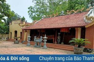 Về làng Quan Thành thăm đền vua Đinh