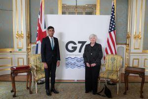 G7 nhất trí mức thuế doanh nghiệp toàn cầu
