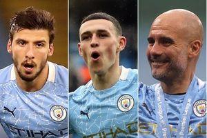 Man.City giành hết các giải thưởng cá nhân ở Premier League