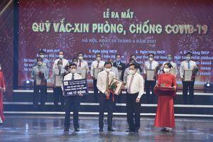 Vinataba ủng hộ 100 tỷ đồng vào Quỹ vaccine phòng chống COVID-19