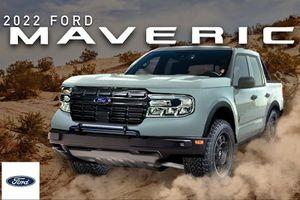Ford Maverick lộ diện - đối thủ nặng ký của Hyundai Santa Cruz