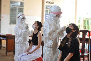 Đắk Lắk xét nghiệm SARS-CoV-2 tất cả người về từ vùng dịch