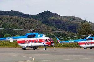 Tăng cường chuyến bay trực thăng phục vụ cấp thiết cho người dân tuyến Vũng Tàu- Côn Đảo