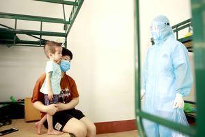Nam Định tiếp nhận, cách ly 117 công dân trở về từ Singapore