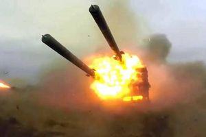 TOS-2 Tosochka của Nga được đưa đi thử nghiệm ở Syria