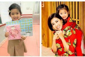 Con gái Mai Phương càng lớn càng giống mẹ và thành tích học đáng tự hào