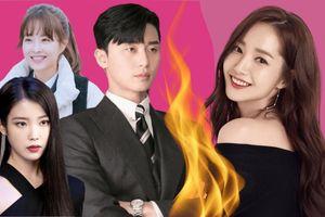 Park Seo Joon sánh đôi với loạt mỹ nhân hòng đối đầu với 'bạn gái tin đồn' Park Mi Young trong năm 2021?