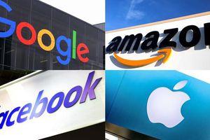 Facebook, Google, Amazon, Apple bị cáo buộc có liên quan hành vi chống độc quyền
