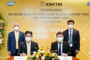 FPT ký kết Hợp đồng chuyển đổi số toàn diện cho Tập đoàn Kim Tín