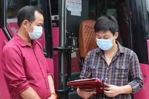 Sơn La cho phép hoạt động với số lượng hạn chế tuyến xe khách Sơn La – Hà Nội