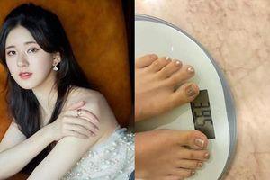Triệu Lộ Tư khoe cân nặng khiến netizen giật mình 'Không phải gầy mà siêu gầy rồi'