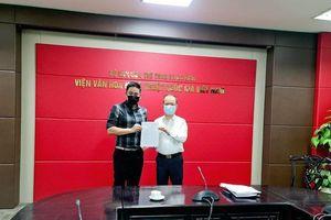 Diễn viên Minh Tiệp giữ chức Giám đốc Trung tâm phát triển công nghiệp văn hóa