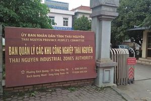 Ban Quản lý các Khu công nghiệp Thái Nguyên: Chậm trễ công khai kết luận thanh tra