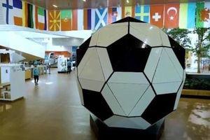 Quả bóng bằng lego lớn nhất thế giới