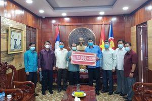 Lào tiếp tục ủng hộ Việt Nam phòng, chống dịch Covid-19