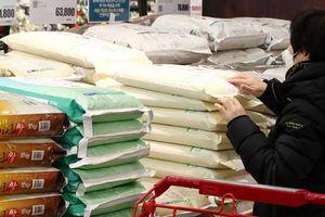 Hàn Quốc: Xuất kho 80.000 tấn gạo bình ổn thị trường