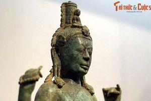 Ngắm bức tượng Bồ Tát bằng đồng đẹp nhất vương quốc Chăm Pa