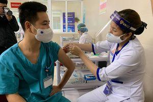 Hơn 1,3 triệu liều vắc xin ngừa COVID-19 được tiêm cho người dân Việt Nam
