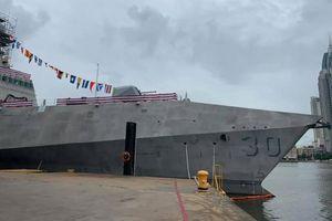 Mỹ hạ thủy chiến hạm duy nhất mang tên Canberra