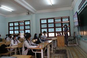 Kon Tum: Học sinh lớp 12 trở lại trường ôn thi tốt nghiệp THPT