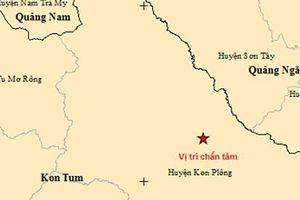 Động đất ở tỉnh Kon Tum