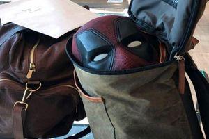 Ryan Reynolds đi du lịch vẫn mang theo trang phục Deadpool
