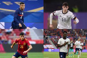Top 10 cầu thủ U23 đắt nhất EURO 2020: Tuyển Anh chiếm phân nửa