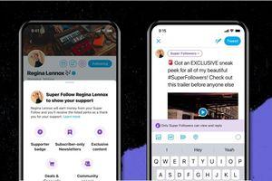 Dịch vụ Super Follows trên Twitter sớm sẽ được ra mắt